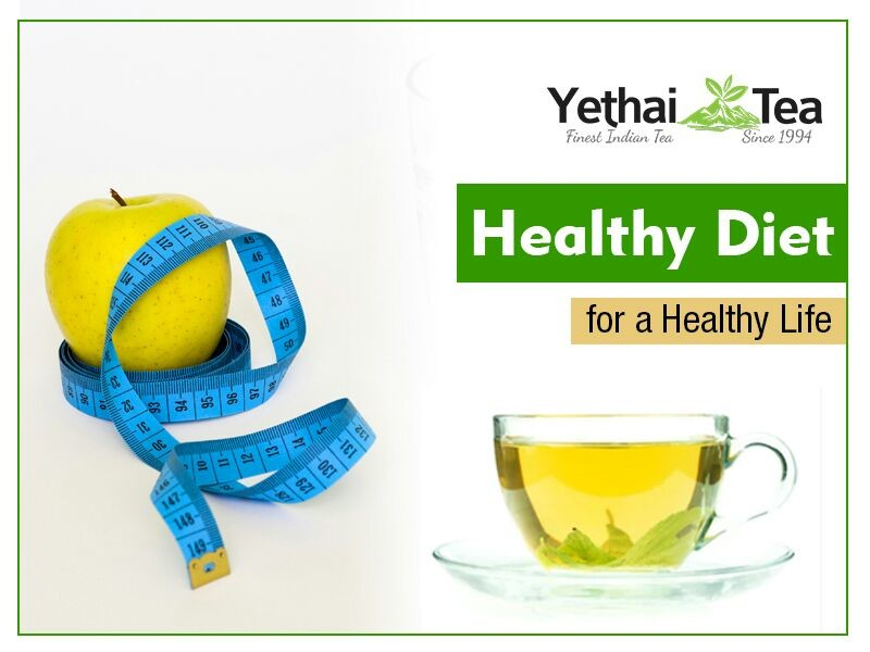 Green Tea Diet for Healthy Life
