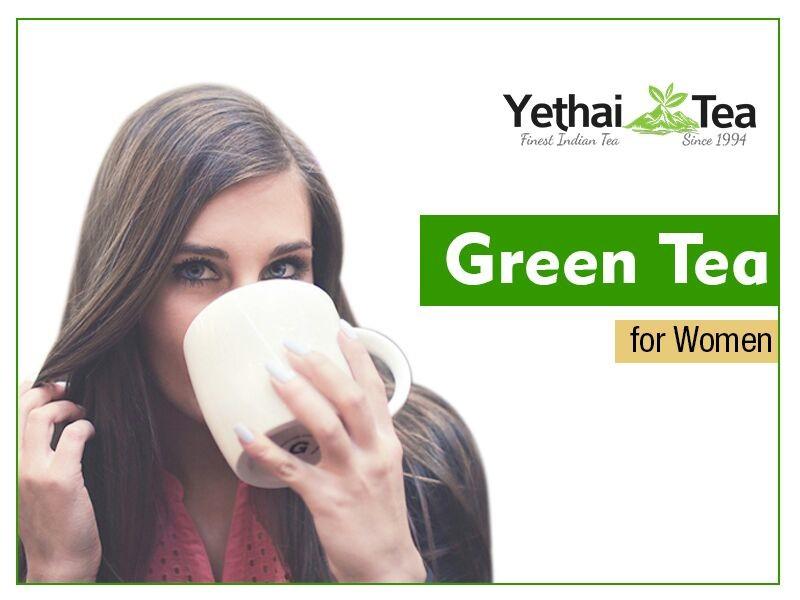 Wellness of Green Tea for Women