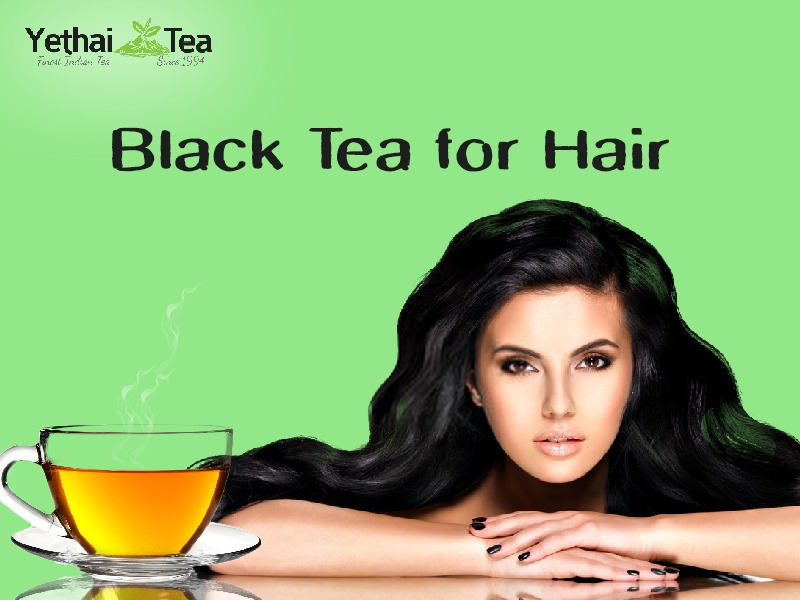 Black Tea for Hair- How does it Work?