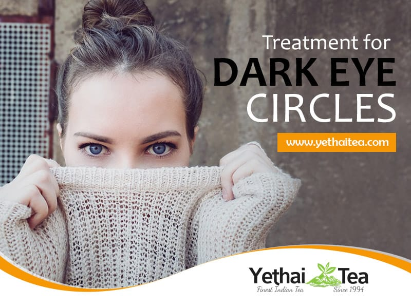 Green Tea Helps To Treat Dark Circles And Puffy Eyes