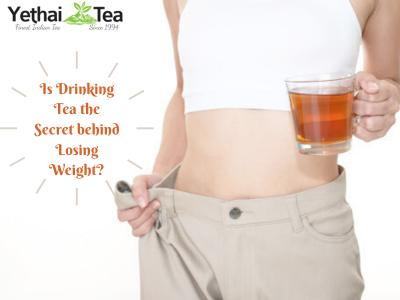 Is Drinking Tea the Secret behind losing weight?