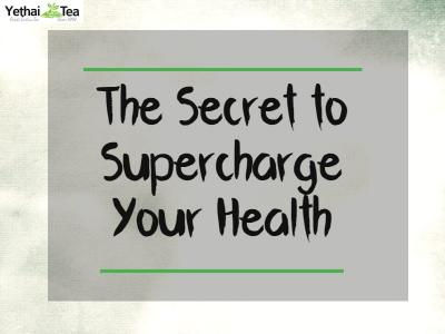 The Secret to Supercharging your Health