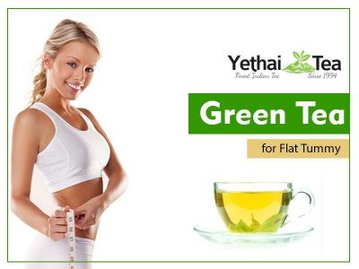 Green Tea for Flat Tummy