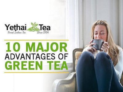 10 Major advantages of Green Tea