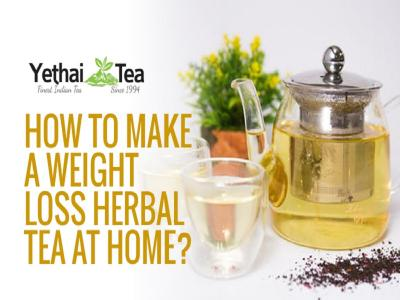 How to Make a Weight Loss Herbal Tea at Home?