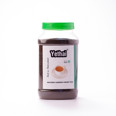Nilgiris Garden Fresh Black Tea | Yethai CTC Nilgiris Black Tea | Loose Leaf Tea Powder from Nilgiris | No Chemicals | 100% Natural | Fresh Tea Powder