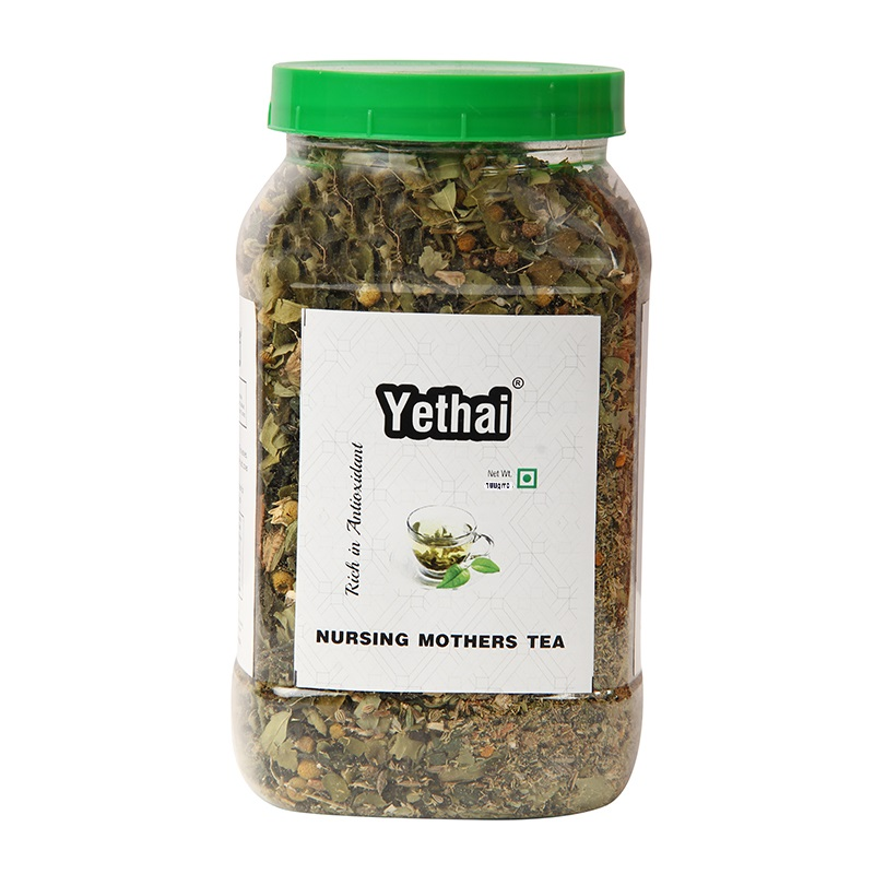 Nursing Mothers Tea | Tea for breast feeding mothers | Healthy Mothers Lactation Tea | Herbal Green Tea 100 g (Min. 70 Cups) | Loose Leaf Tea | No Chemicals | Herbal Green Tea