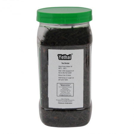 Orthodox Tea | Yethai Orthodox Black Tea, 100 GMS (Min. 50 Cups) | Loose Leaf Tea Powder from Assam | Orange Pekoe Tea | No Chemicals | 100% Natural | Fresh Tea Powder